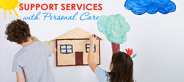 How do I get a house to take care of disabled foster children?